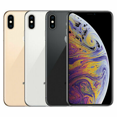 Apple iPhone XS Max  64GB 256GB 512GB Factory GSM Unlocked T-Mobile AT&T