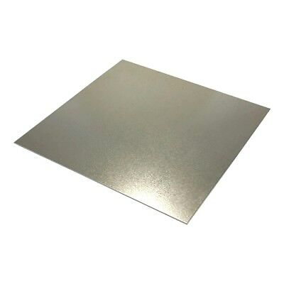 "Galvanized Steel Sheet Metal (16ga.) 9"" x 12"" Quantity: 2"