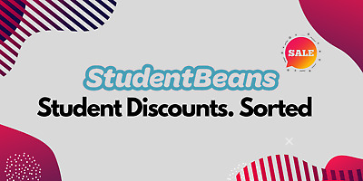 ✅ Student Beans US ⭐ Verified Student Account ⭐ 12 Months - NOT UNIDAYS -