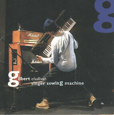 Singer Sowing Machine by Gilbert O'Sullivan (CD, 1997) 13th Studio CD/Japan Imp.