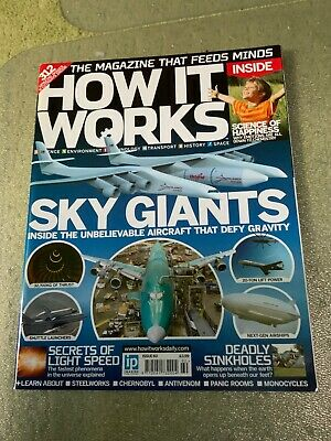 How It Works 60 - Giant Planes, Sinkholes, Steel, Light Speed, Happiness