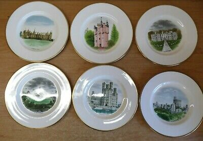 Wedgwood Castles and Country Houses by David Gentleman Limited Edition Plates