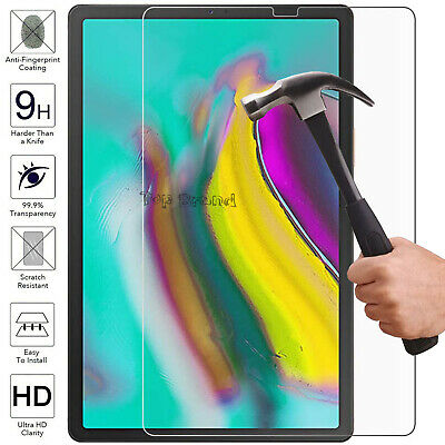 Tempered Glass Screen Protector LCD Clear Guard Film For Samsung Galaxy all Tabs