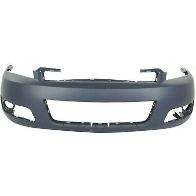 Front Bumper Cover Fascia for 2006-2013 Chevy Impala W//Fog 06-13 GM1000764 Painted to Match MBI AUTO