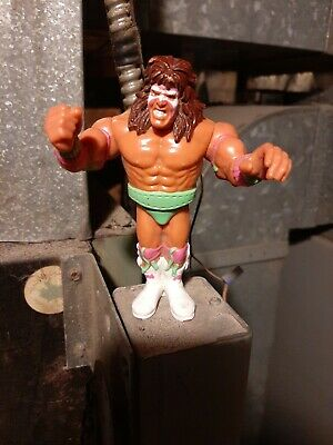 "WWF Hasbro Series 1 Figure Art Ultimate Warrior 11/"" Plastic Cutout"