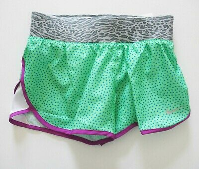 NWT Nike Girl/'s Dri-Fit Tempo Rival GFX Running Shorts Size S 728088