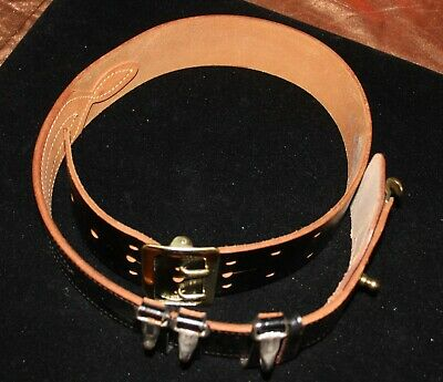 Jay-Pee Cowhide Leather Tactical Belt Size 34