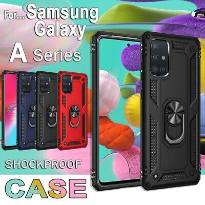 For Samsung Galaxy A31 A51 A21S Magnetic Case Heavy Duty Shockproof Rugged Cover