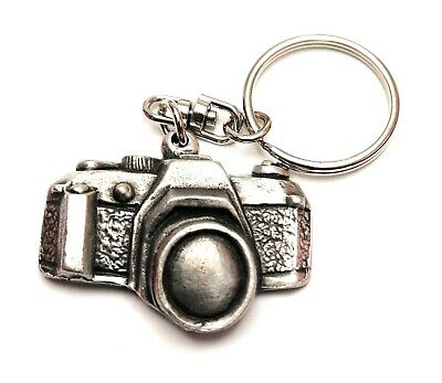 Scottish Piper KeyRing Hand Crafted Pewter Key Ring in pouch Gift Idea