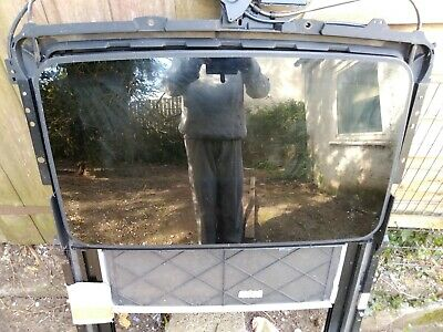 Jaguar s type electric sunroof. Fits models 1999 to 2003