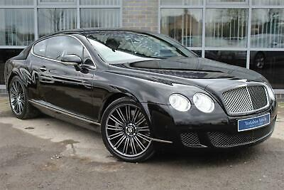 2009 Bentley Continental 6.0 W12 GT Speed 2dr Auto Coupe Petrol Automatic