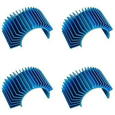4 Pack Aluminum Electric Engine Motor Heatsink Fins Cooling for RC 540 550 Y5P6