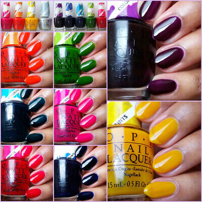 OPI - Color Paints Collection - Sheer Jelly Metallic Chrome Nail Polish Art