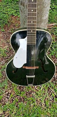 Lefty harmony Montclair Acoustic Guitar Archtop left handed