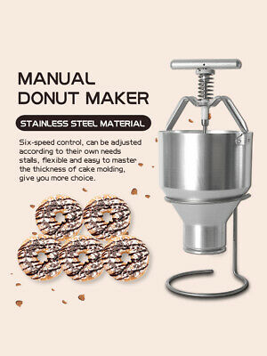 Commercial Manual Stainless 5-9CM Donut Maker Kitchen Tool 2.5L Donut Dispenser
