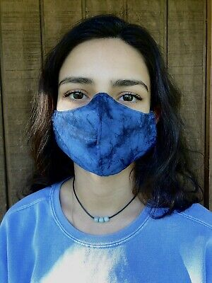 Marble Cloth fabric face mask many colors all size w/filter pocket & nose bridge