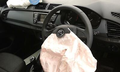 2017 SKODA FABIA (NJ) Left Rear (Double) SEAT BELT STALK