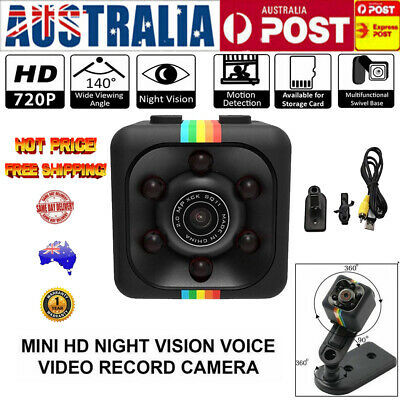 COP CAM Security Camera HD720 Motion Detection 32GB Card Night Vision Recorder