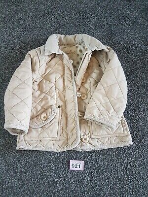 Girls Cream Coat From Next Age 3-4 Years