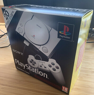 Sony PlayStation Classic Mini Console NEW/SEALED