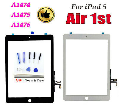 Touch Screen Digitizer Replace For iPad Air iPad5 A1474 A1475 A1476 Tools 9.7""