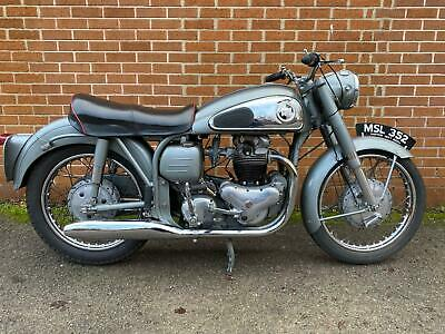 NORTON DOMINATOR 99 600cc 1957 CLASSIC MOTORCYCLE (FREE DELIVERY)