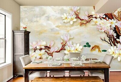 Details about  /3D Chinoiserie 583NA Business Wallpaper Wall Mural Self-adhesive Commerce Amy