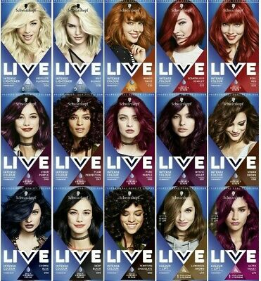Schwarzkopf Professional Live Intense Colours | Permanent Hair Dye |Semi-permant