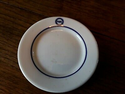 PURE OIL CO   6 inch bread / butter plate   used