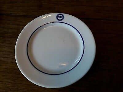 PURE OIL CO   5 1/2 inch bread / butter plate   used