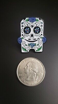 Day of the Death White Peccy Pin Limited Edition