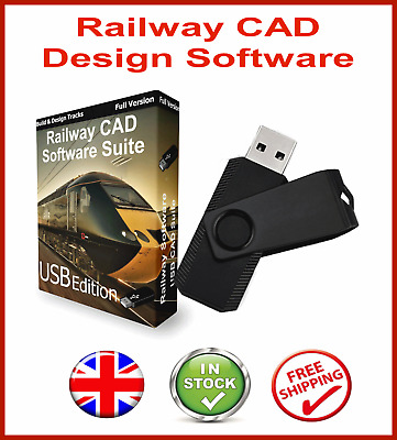 Design Build Model Railway Layout Track Plans On Cd Cad Software 142c 1 49 Picclick Uk