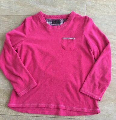 Lovely Primark Ladies Lounge/Nightwear Jumper Top. Great Cosy Pink. 10-12