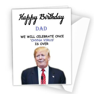 BIRTHDAY CARD isolated Funny Rude for Brother Son Dad Husband Boy Girl Friend