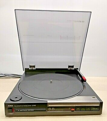 Giradischi Vintage Aiwa Full Automatic D.d. Turnable System Lx-50