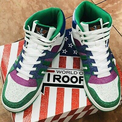 Troop Ice Lamb Mid White//Green//Red