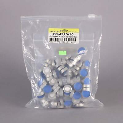 Chemglass 20mm Aluminum Seal Caps #CG-4920-10