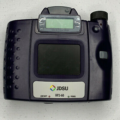 JDSU HP2-60 Fiber Optic Microscope & Power Meter for LC fibers - VIAVI