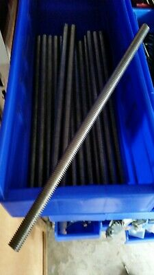 "1/2"" X 13 Stainless Steel Threaded Rods 12"""
