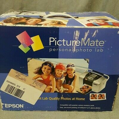Epson Picture Mate Personal Photo Lab - With original CD Rom and Manual