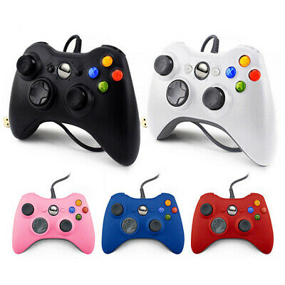 USB Console Wired Gamepad Controller Joypad For Microsoft Xbox 360 Games Windows