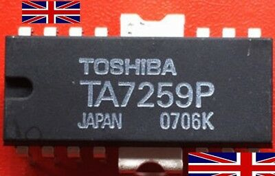TA7259P DIP14 Integrated Circuit from Toshiba