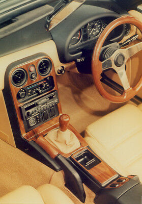 Mazda Mx5 Mk1 1990 - 1998 Walnut Wood Dash Trim Kit