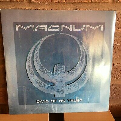 "Magnum  ‎– Days Of No Trust  Vinyl, 12"", 45 RPM, Single Ex+"