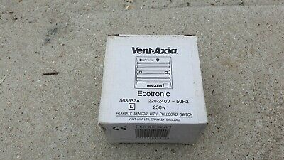 Vent Axia Humidity Sensor with Pullcord Switch