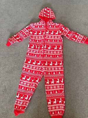 MARKS AND SPENCER  Christmas Bodysuit - AGE 9 years - RED
