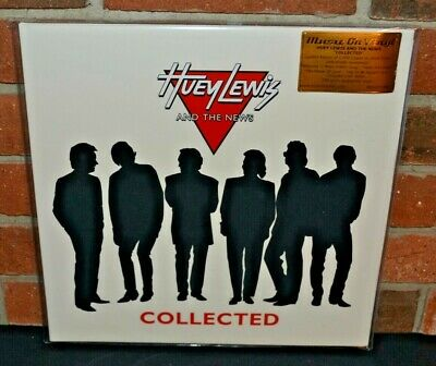 HUEY LEWIS AND THE NEWS - Collected, Ltd Import 180G 2LP COLORED VINYL #d New!