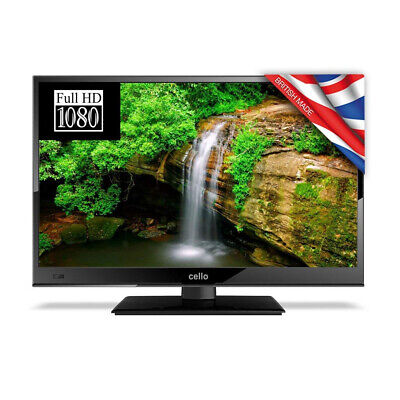 """Cello 22"""" Inch Full HD 1080p LED 12v TV with Freeview / PVR and Satellite Tuner"""