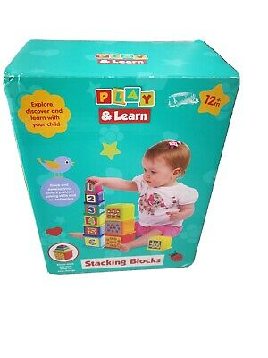 Play And Learn Stacking Blocks New