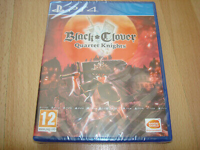 BLACK CLOVER QUARTET KNIGHTS ** NEW & SEALED ** Sony Playstation 4 Ps4 Game